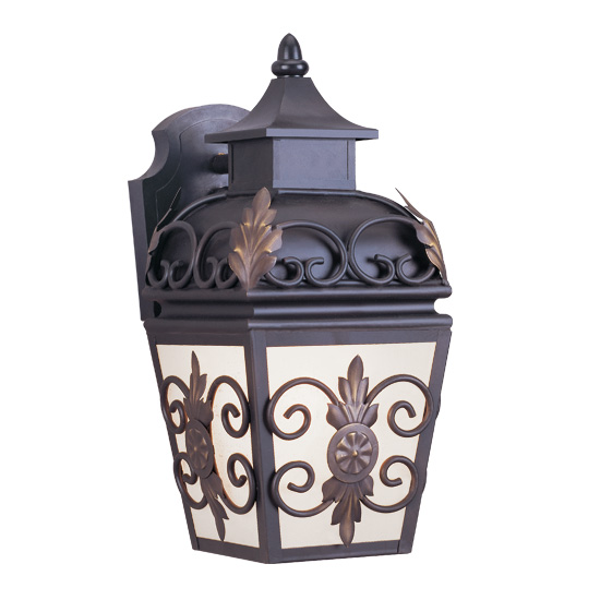Livex Lighting 2191-07 Berkshire Outdoor Wall Lantern in Bronze
